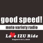 good speed love izu ride